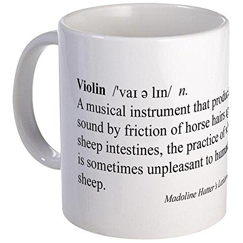 CafePress - Humorous Violin Definition Mug - Unique Coffee Mug, Coffee Cup