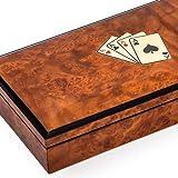 Bello Collezioni - Niccolino Luxury Briar Wood Card Case. Made in Italy