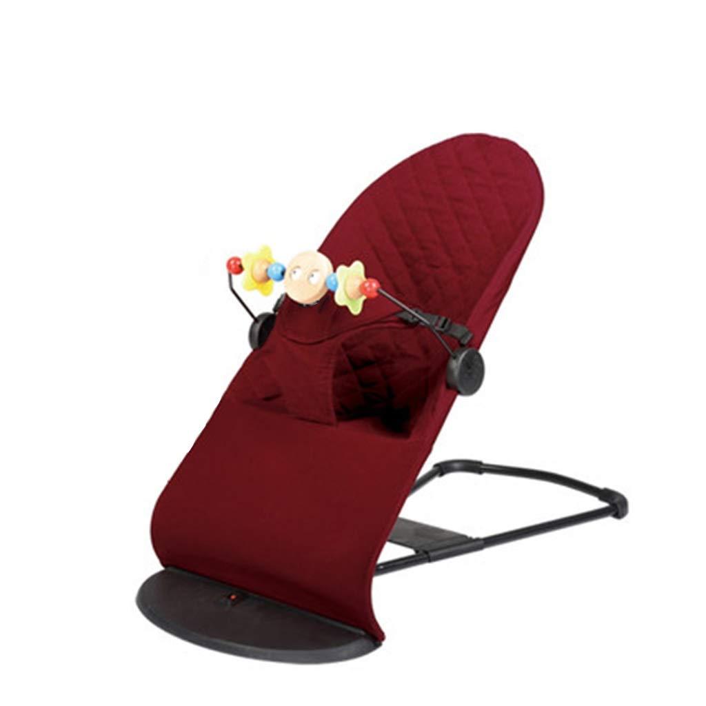 YY_C1 Musique Chaise bébé, Chaise bébé, Chaise berçante bébé, artefact de Confort bébé, Berceau inclinable, Chaise bébé en Coton, Support de Jeu de Casse-tête Amovible