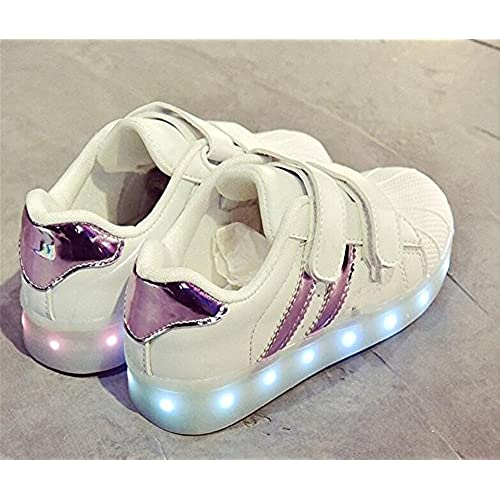 Jedi fight back Multi-Color LED Light up Shoes for Little Boys/&Grils.