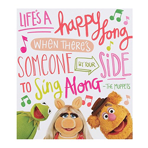(Hallmark Disney Muppets Card Happy Song -)