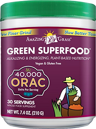 Amazing Grass ORAC Green SuperFood-30 Servings 7.4-Ounce