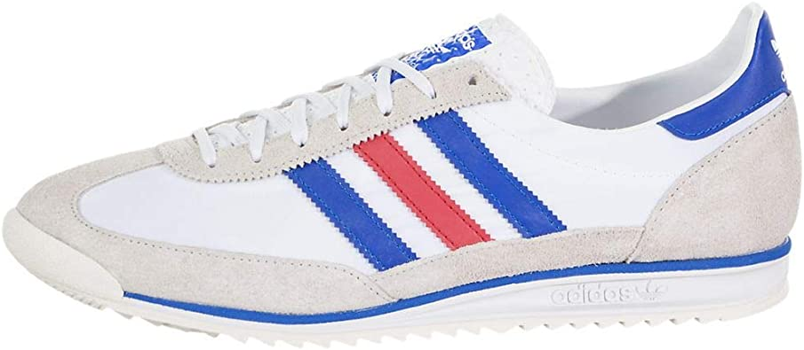 adidas Mens Sl 72 Lace Up Sneakers Shoes Casual - White