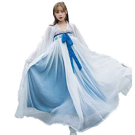 YCWY Traje Vintage para Mujer, Elegante Vestido Chino ...