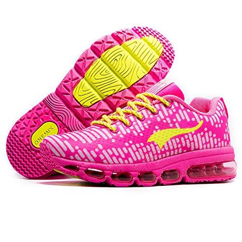 Fitness Unisex Sneakers Adulto Donna Onemix Ginnastica Sportive Corsa Uomo Scarpe Running Rosa Air Da Px1516vq