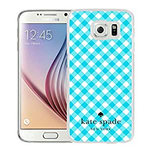 Kate Spade 26 White Cool Abstract Picture Case For Samsung Galaxy S6 Phone Case