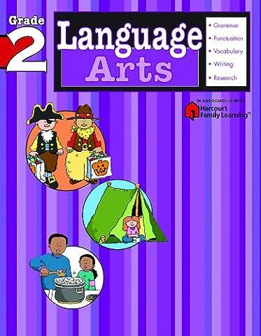 Language Arts: Grade 2 (Flash Kids Harcourt Family Learning) (Language Arts For Kids)
