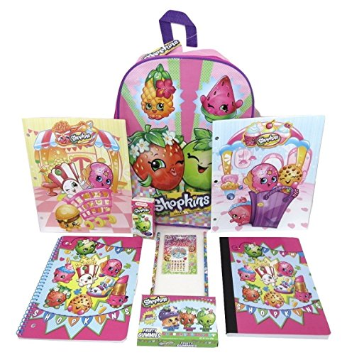 Super Deluxe Sleeping Beauty Princess Costumes (Shopkins Backpack 10 Piece Back to School Backpack and Supplies Bundle S-112)