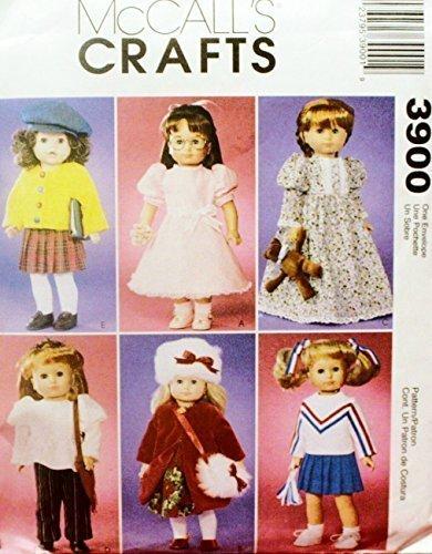 McCall Crafts 3900 Pattern Dresses Cheerleader Gown Dress...