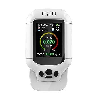 Medidor de Detector de formaldehído digital AYQ Probador de calidad del aire Analizador de aire del