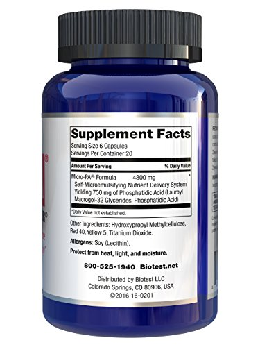 Micro-PA™ - 120 capsules by Biotest (Image #1)