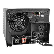Tripp Lite APS1250 Inverter/Charger 1250W 12V DC to 120V AC 30A 5-15R 2 Outlet