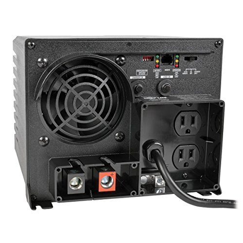Tripp Lite APS750 Inverter / Charger 750W 12V DC to 120V AC 20A 5-15R 2 - Sites Online Outlet