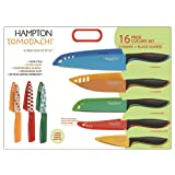 Hampton Forge Splash 16-Piece Knife Set, HMC01A197E