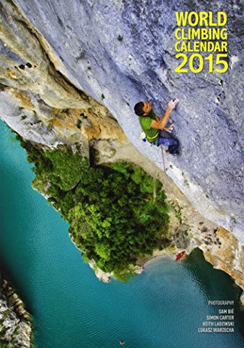 Descargar Libro World Climbing Calendar 2015 Simon Carter