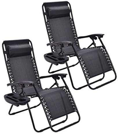 Amazoncom Goplus Zero Gravity Chairs Lounge Patio Folding