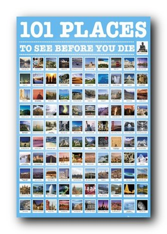 Gb Eye Places To See Before You Poster