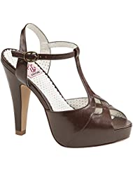 Pin Up Couture Womens Bett23/Rpu Platform Sandal