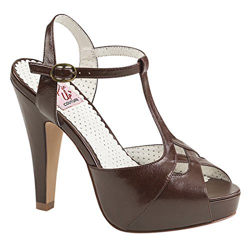Pin Up Couture Kvinders Bett23 / Rpu Platform Sandal Brun o7are