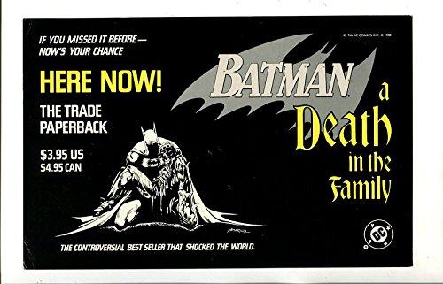 BATMAN-A DEATH IN THE FAMILY-1988-DC-SIGN-vg (Batman A Death In The Family 1988)