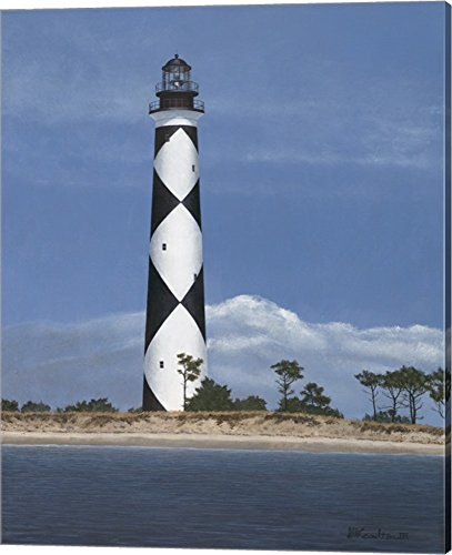 Cape Lookout by David Knowlton Canvas Art Wall Picture, Gallery Wrap, 16 x 20 inches