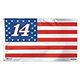 Tony Stewart Stars & Stripes Flag – Deluxe 3′ X 5′ Foot Nascar #14 For Sale