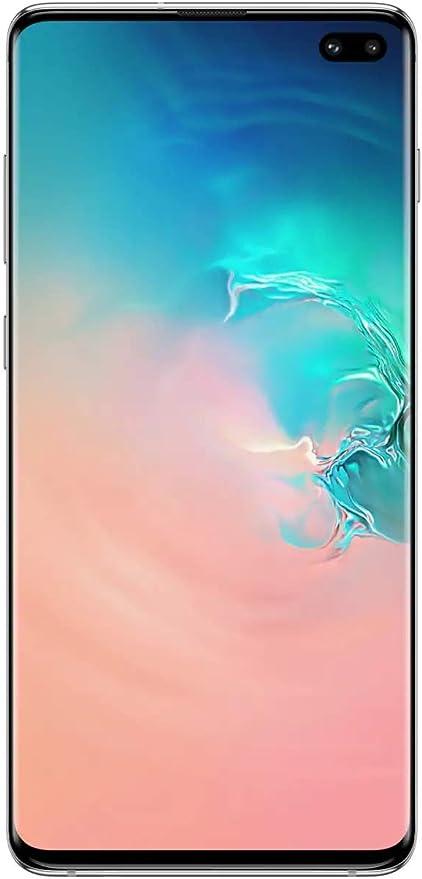 Samsung Galaxy S10 Plus 128 Gb 8 Gb Ram Sm G975f Ds Doble Sim 6 4 Lte Desbloqueado De Fábrica Smartphone Modelo Internacional Blanco Prisma Electronics