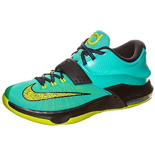 Nike KD VII Men Hyper Jade/Black/Photo Blue/Volt 653996-370 (SIZE: 11.5) (All Black Kd 7)