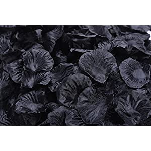 ocharzy 1000pcs Silk Rose Petals Wedding Flower Decoration 109