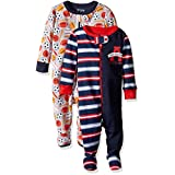 The Children's Place Baby Girls' Stretchie Pajamas (Pack of 2), Multi Color, 6-9 Months