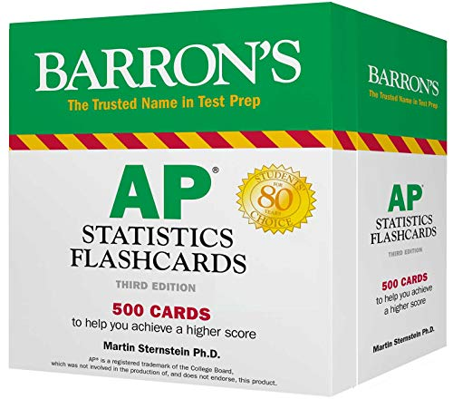 AP Statistics Flashcards (Barron