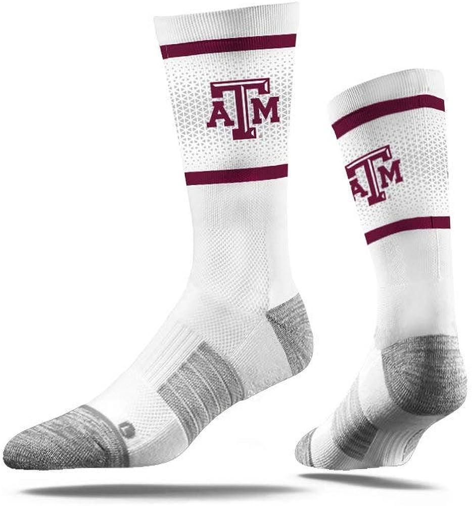 6 Total Socks Elite Fan Shop NCAA Mens Sock 3-Pack