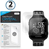 Garmin Approach S20 Screen Protector, BoxWave [ClearTouch Crystal (2-Pack)] HD Film Skin - Shields From Scratches for Garmin Approach S20