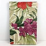 Elrene Summer Fun Vinyl Umbrella Tablecloth Gorgeous Tropical Floral (52 x 70 Oblong)