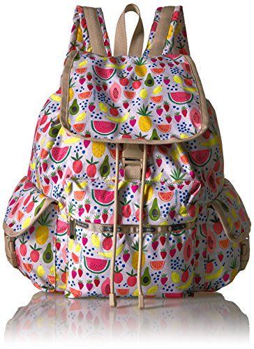 LeSportsac Women's Classic Voyager Backpack, Summer Fruits by LeSportsac
