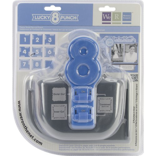 We R Memory Keepers 71129-2 8 Punch Lucky Fancy Scroll