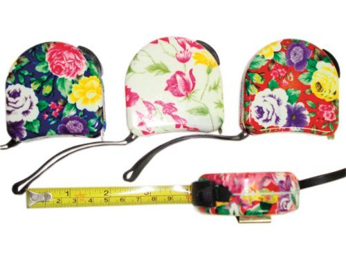 Pretty Tools Tape Measure - Floral Tape Measure