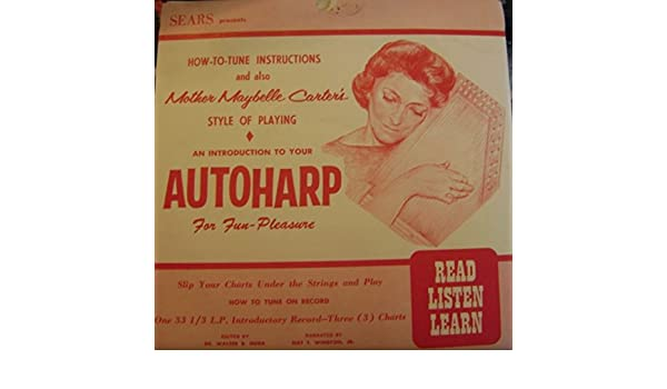 Nat Winston Dr Walter Buda Autoharp As Played By Mother Maybelle