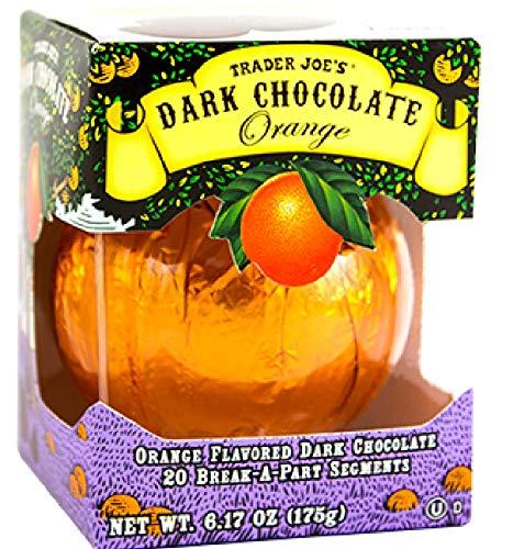 (Trader Joe's Seasonal All Natural Dark Chocolate Orange with 20 Break-apart Segments / No Artificial Colors or Flavors / No Preservatives )