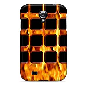 New BJBcke Super Strong Fire Tpu Case Cover For Galaxy S4