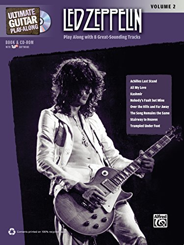 Led Zeppelin Tab Book - Ultimate Guitar Play-Along Led Zeppelin, Vol 2: Authentic Guitar TAB, Book & CD-ROM (Ultimate Play-Along)