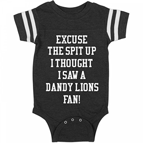 Thought I Saw A Dandy Lions Fan:Infant Rabbit Skins Football Bodysuit