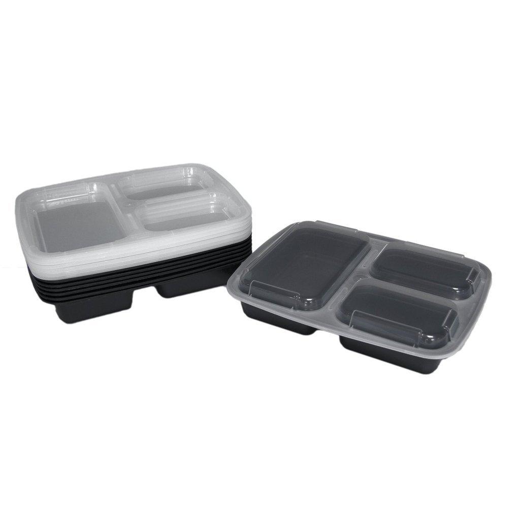 7 unidades) kamierfa 32 onzas comida Prep contenedor de alimentos ...