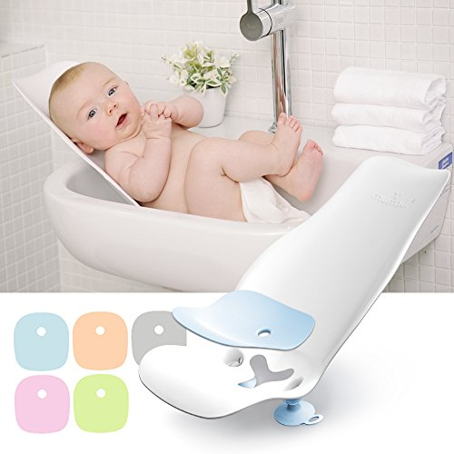 - murmurbaby Baby Bath Seat and Bidet, Newborn Baby to Toddler (Bulk Type) (Green)