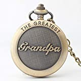 to My Grandpa Engraved Pocket Watch for Grandpa