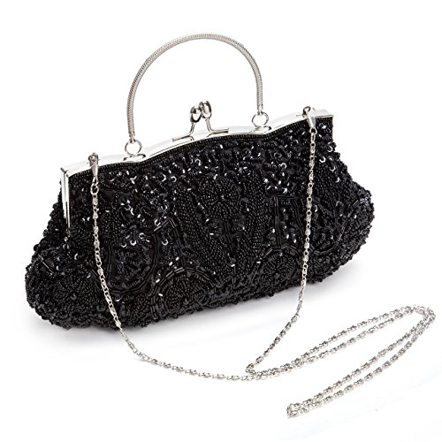 Bag Satin Bag Handbags Handbags And Evening Sequins Party Beaded Fashion Retro Asian Wedding xHqwY8aAX