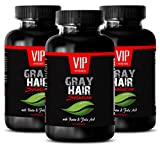 Product review for Biotin 300 mg - Gray Hair Solution - Anti gray hair pills (3 Bottles 180 capsules)