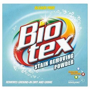 Quitamanchas Bio-tex en polvo, 520 g, paquete de 18: Amazon ...