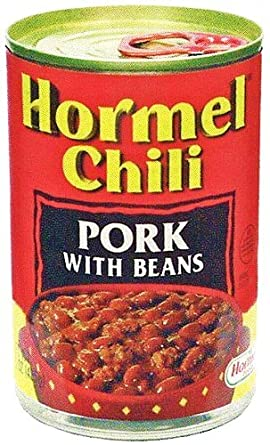 amazon hormel chili ホーメルチリ ポーク ウィズ ビーンズ 425g 12