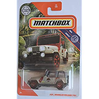 Matchbox Jeep Wrangler Rollbar (18#) 72/100